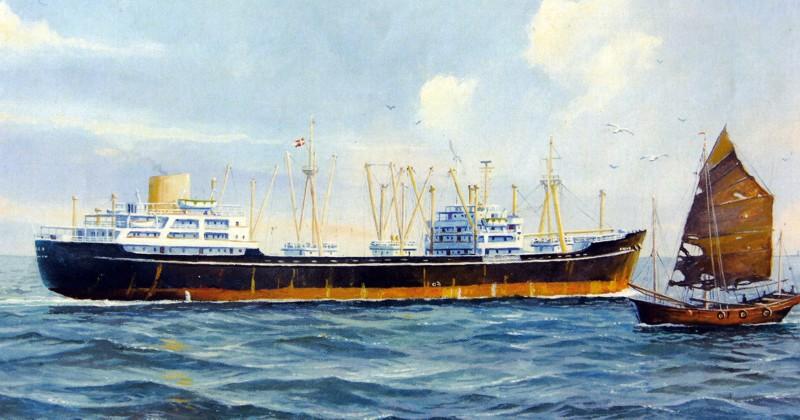 hovmester på et skib